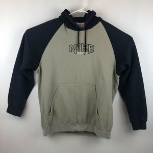 VTG 90's Nike White Tag Spell Out Hoodie Size XL